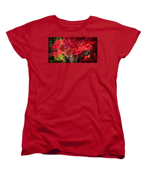 The Color Of Fall Women's T-Shirt (Standard Cut) by Patrice Zinck