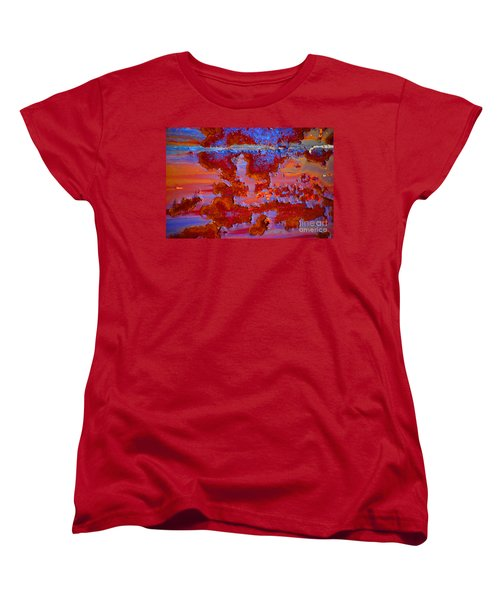 Women's T-Shirt (Standard Cut) featuring the photograph The Darkside #3 by Christiane Hellner-OBrien