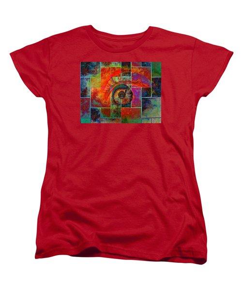The Eye Women's T-Shirt (Standard Cut) by Ron Harpham