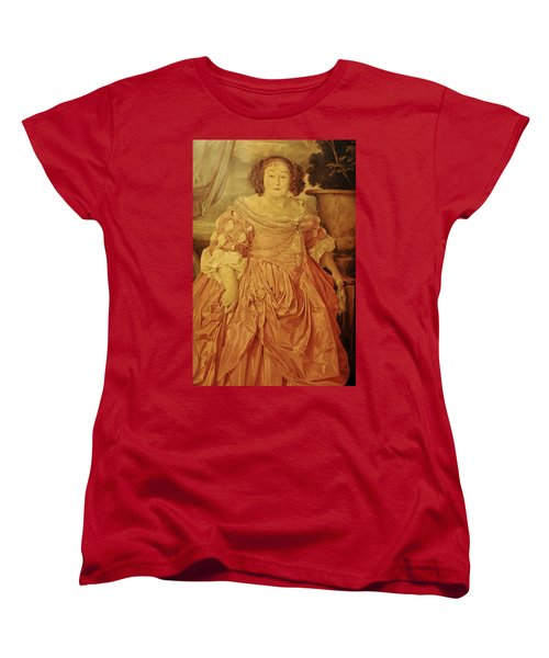 The Fat Lady Women's T-Shirt (Standard Cut) by Gina Dsgn