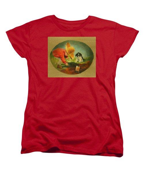 The Gardeners Women's T-Shirt (Standard Cut) by Doreta Y Boyd