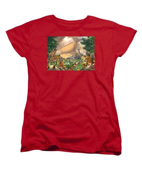 The Gathering Women's T-Shirt (Standard Cut) by Chris Heitt