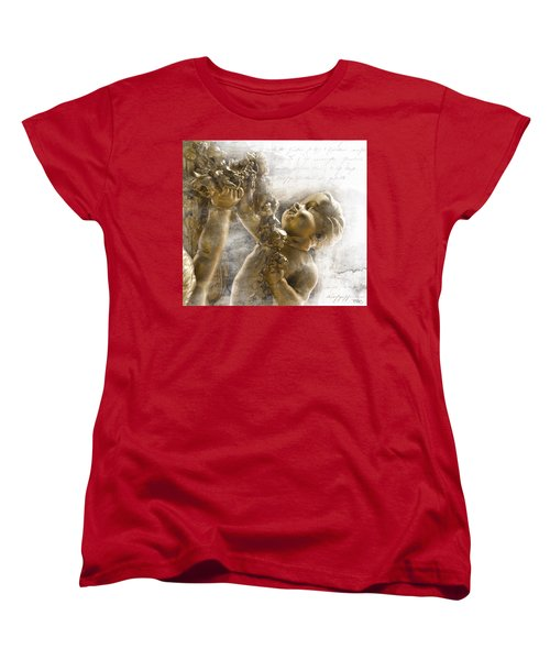 The Glory Of France Women's T-Shirt (Standard Cut) by Evie Carrier