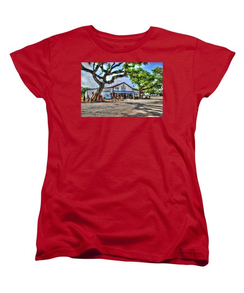 Women's T-Shirt (Standard Cut) featuring the digital art The Hardware Store by Michael Thomas