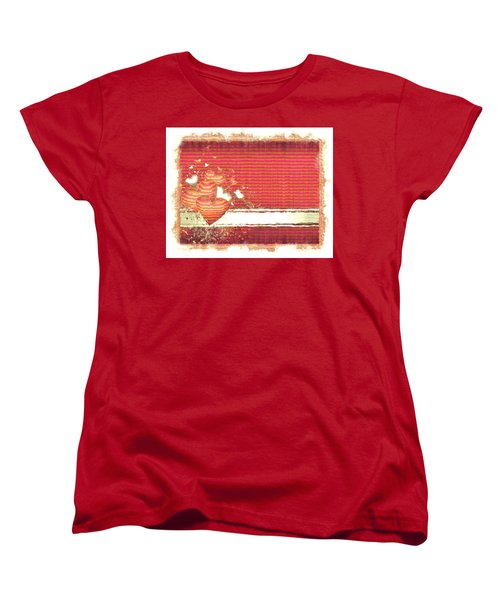 The Heart Knows Women's T-Shirt (Standard Cut) by Liane Wright