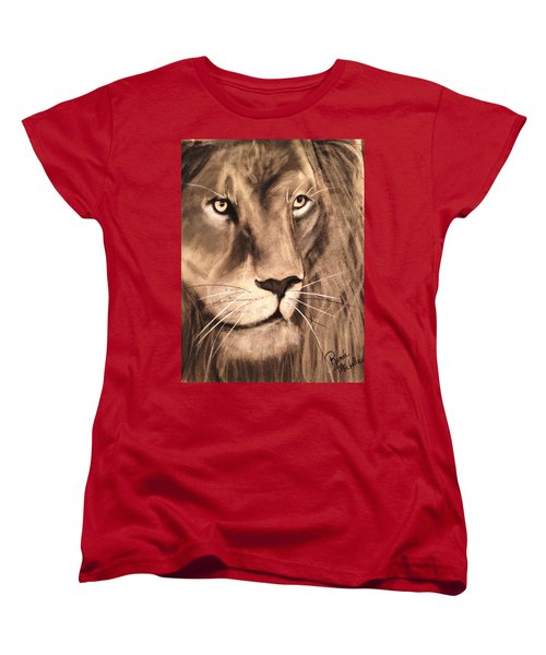 The King Women's T-Shirt (Standard Cut) by Renee Michelle Wenker
