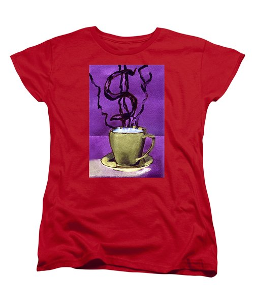 The Midas Cup Women's T-Shirt (Standard Cut) by Paula Ayers