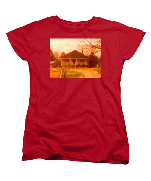 The Old Home Place Women's T-Shirt (Standard Cut) by Rebecca Korpita