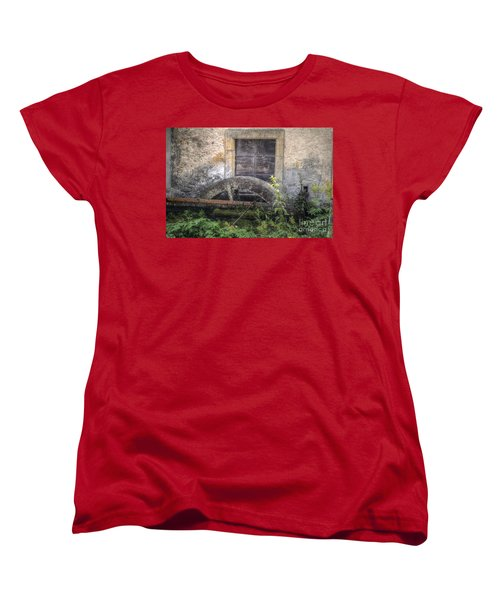 The Old Mill Women's T-Shirt (Standard Cut) by Michelle Meenawong