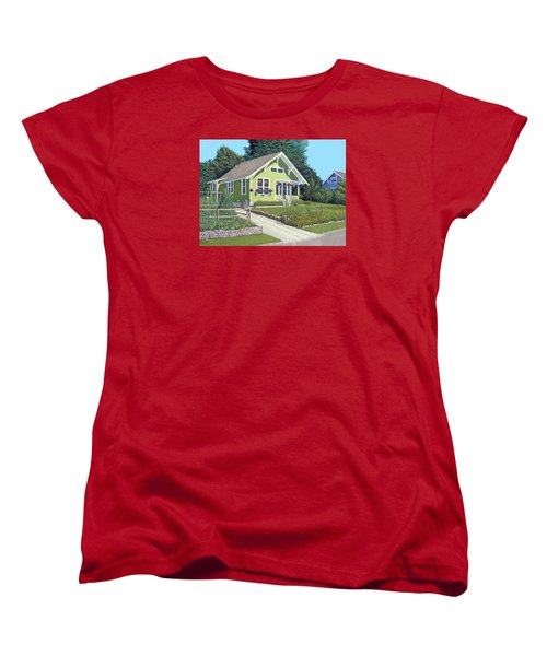 Our Neighbour's House Women's T-Shirt (Standard Cut) by Gary Giacomelli