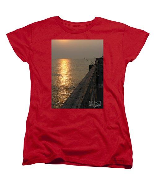 The Pole Women's T-Shirt (Standard Cut) by Greg Patzer
