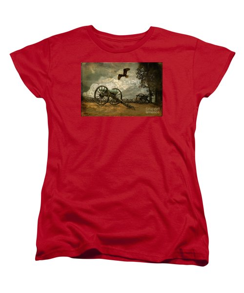 The Price Of Freedom Women's T-Shirt (Standard Cut) by Lois Bryan