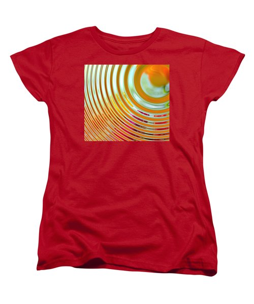 The Ripple Effect Women's T-Shirt (Standard Cut) by Mary Machare