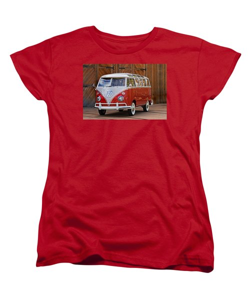 The Samba Women's T-Shirt (Standard Cut) by Peter Tellone