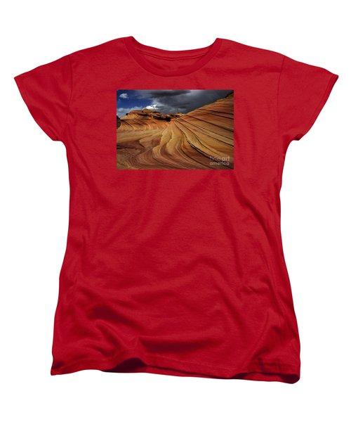 The Second Wave Women's T-Shirt (Standard Cut) by Vivian Christopher