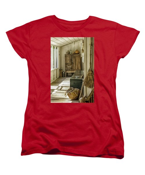 The Sun Room Women's T-Shirt (Standard Cut) by Lynn Palmer