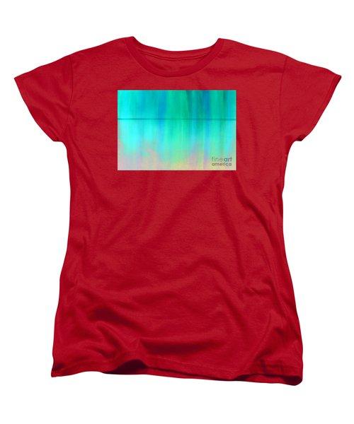 The Thin Red Line Women's T-Shirt (Standard Cut) by Albert Puskaric