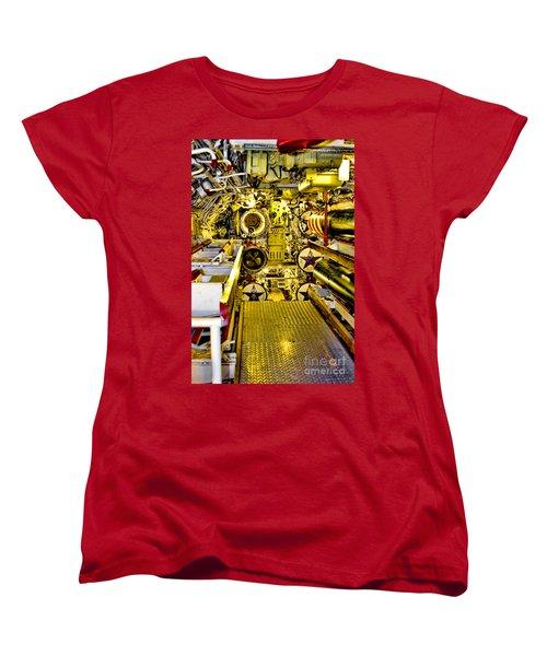 The Torpedo Bay Women's T-Shirt (Standard Cut) by Jason Abando