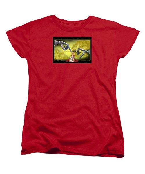 The Touch Women's T-Shirt (Standard Cut) by Scott Ross
