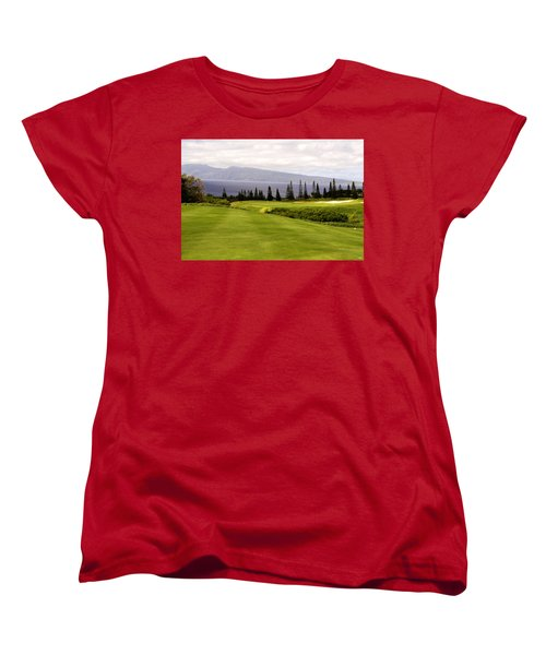 The View Women's T-Shirt (Standard Cut) by Scott Pellegrin