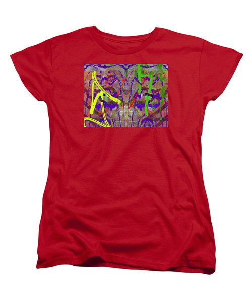 The Writing On The Wall 14 Women's T-Shirt (Standard Cut) by Tim Allen