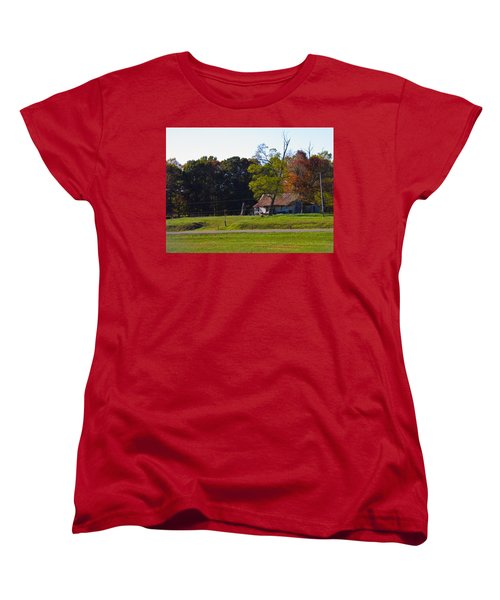 Women's T-Shirt (Standard Cut) featuring the photograph This Old House by Nick Kirby