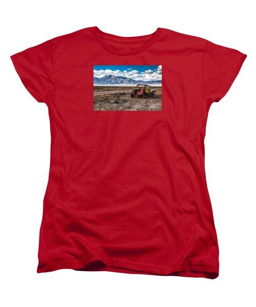 This Old Truck Women's T-Shirt (Standard Cut) by Robert Bales