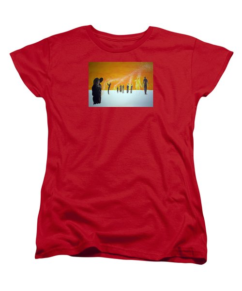 Those Who Left Early Women's T-Shirt (Standard Cut) by Lazaro Hurtado