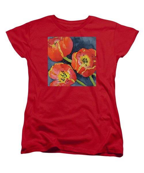Three Sisters Women's T-Shirt (Standard Cut) by Beverley Harper Tinsley