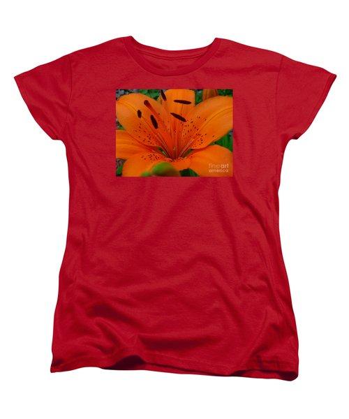 Women's T-Shirt (Standard Cut) featuring the photograph Tiger Lily by Bianca Nadeau