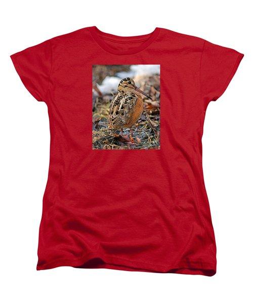 Timberdoodle The American Woodcock Women's T-Shirt (Standard Cut)