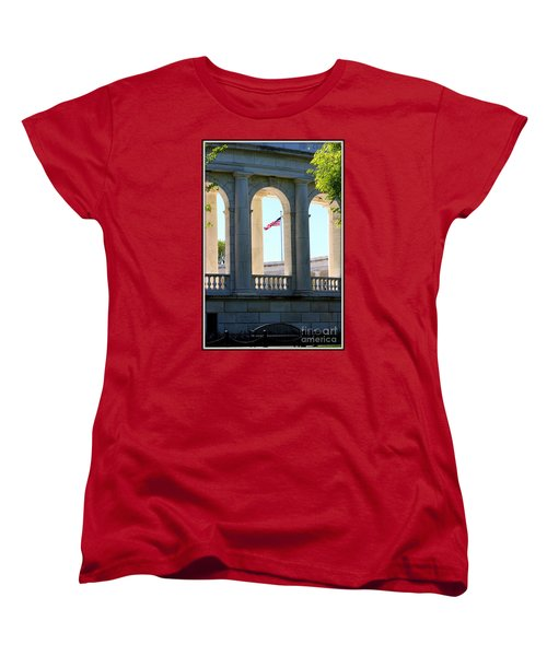 Women's T-Shirt (Standard Cut) featuring the photograph Time To Reflect by Patti Whitten