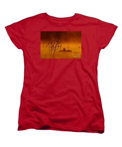 Time To Spread My Wings And Fly Women's T-Shirt (Standard Cut)