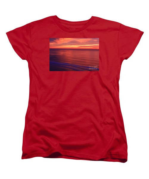 Women's T-Shirt (Standard Cut) featuring the photograph Torrey Pines Twilight by John F Tsumas