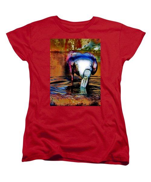 Women's T-Shirt (Standard Cut) featuring the photograph Toupee by Faith Williams