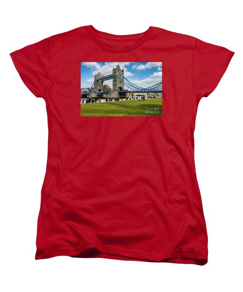 Tower Bridge Women's T-Shirt (Standard Cut) by Matt Malloy