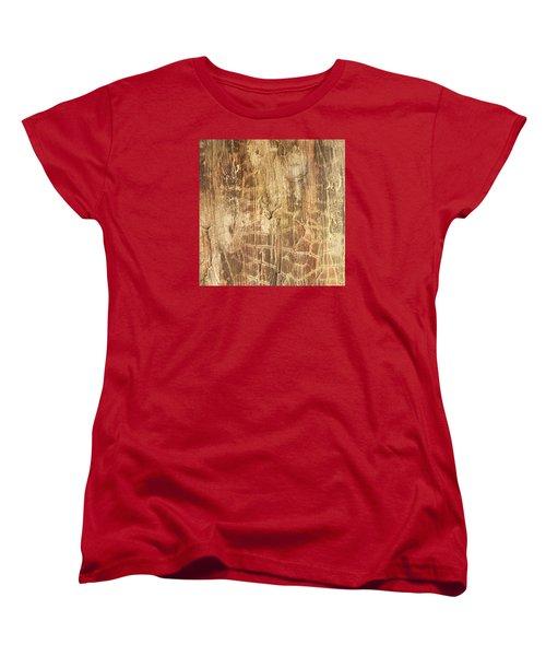 Tree Bark Women's T-Shirt (Standard Cut) by Alan Casadei