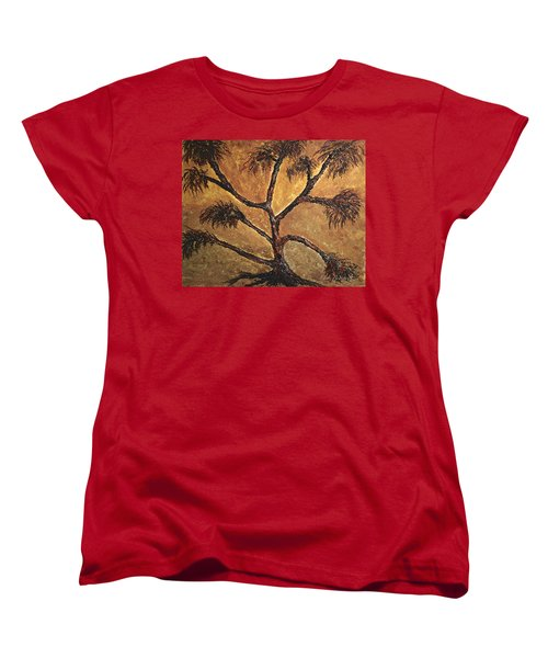 Tree Women's T-Shirt (Standard Cut) by Dick Bourgault