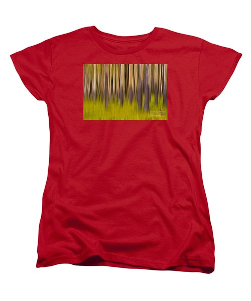 Trees Women's T-Shirt (Standard Cut) by Jerry Fornarotto
