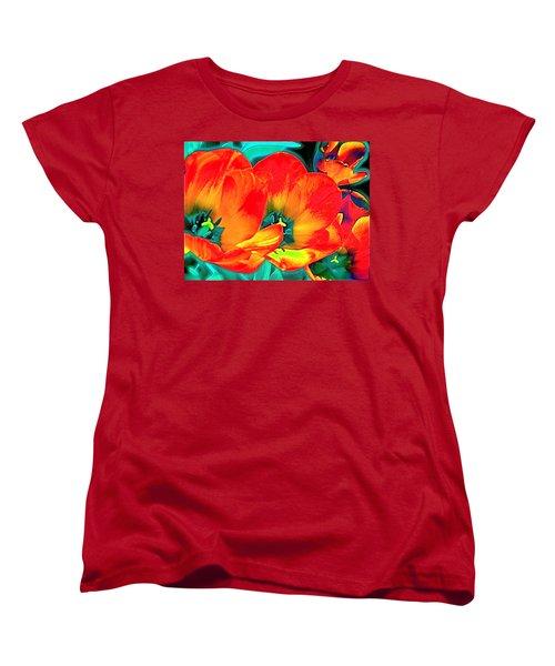 Tulip 1 Women's T-Shirt (Standard Cut) by Pamela Cooper