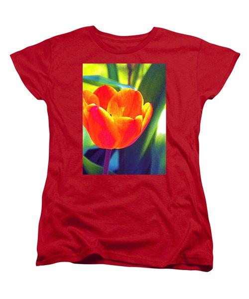 Tulip 2 Women's T-Shirt (Standard Cut) by Pamela Cooper