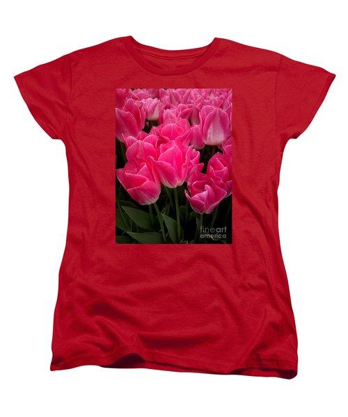 Tulip Festival - 19 Women's T-Shirt (Standard Cut) by Hanza Turgul