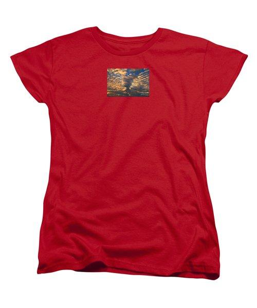 Twisted Sunset Women's T-Shirt (Standard Cut)
