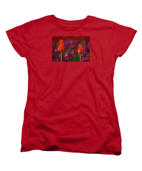 Women's T-Shirt (Standard Cut) featuring the photograph Two Of A Kind by Nick  Boren