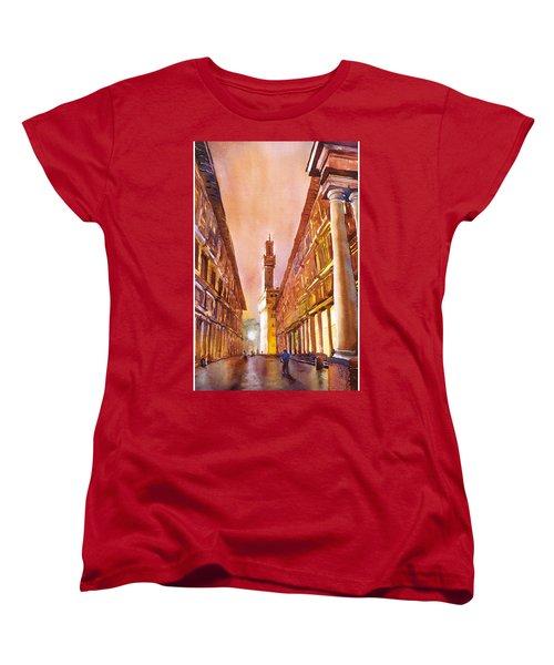 Uffizi- Florence Women's T-Shirt (Standard Cut)