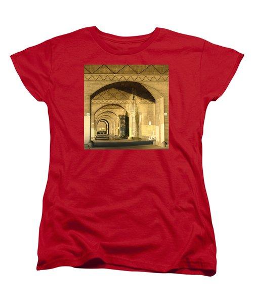 Under The Bridge Women's T-Shirt (Standard Cut) by Joseph Skompski