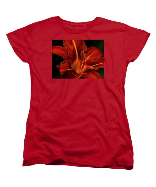 Up Close And Personal Women's T-Shirt (Standard Cut) by Jeanette C Landstrom