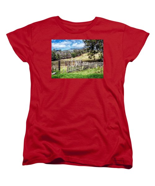 Upcountry 2 Women's T-Shirt (Standard Cut) by Dawn Eshelman