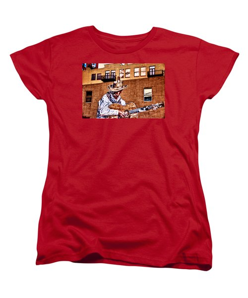 Urban Cowboy Women's T-Shirt (Standard Cut) by Bill Kesler