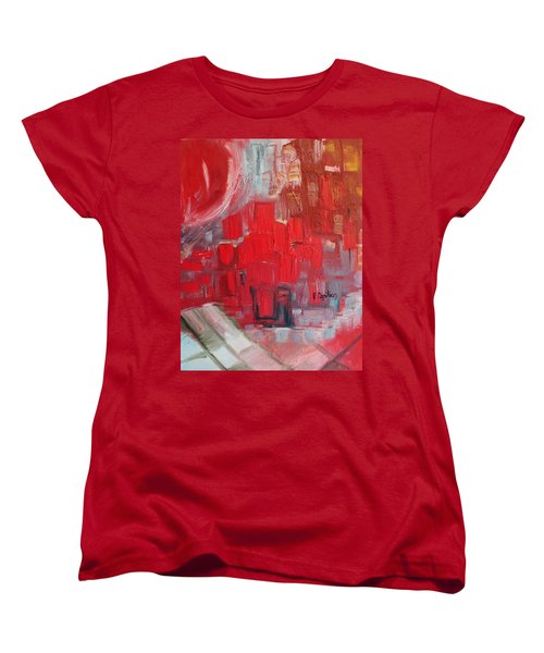 Urban View Women's T-Shirt (Standard Cut) by Evelina Popilian